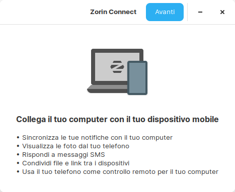 Zorin Connect in Zorin OS 15.2