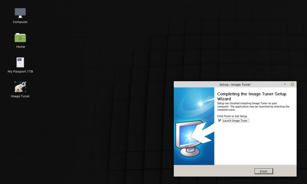 software per windows installato in Linux Mint con Wine