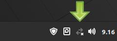 applet rete Linux Mint