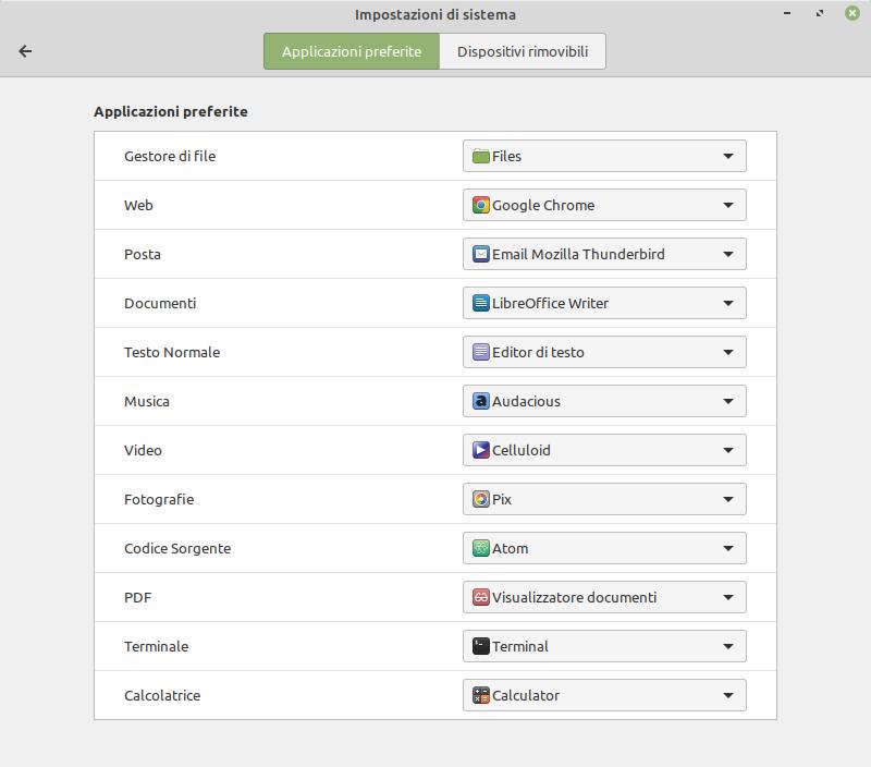 applicazioni preferite Linux Mint