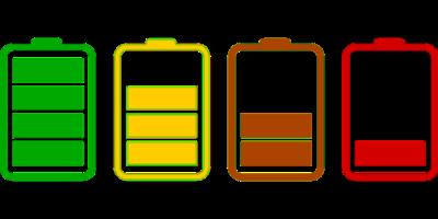 icone carica della batteria