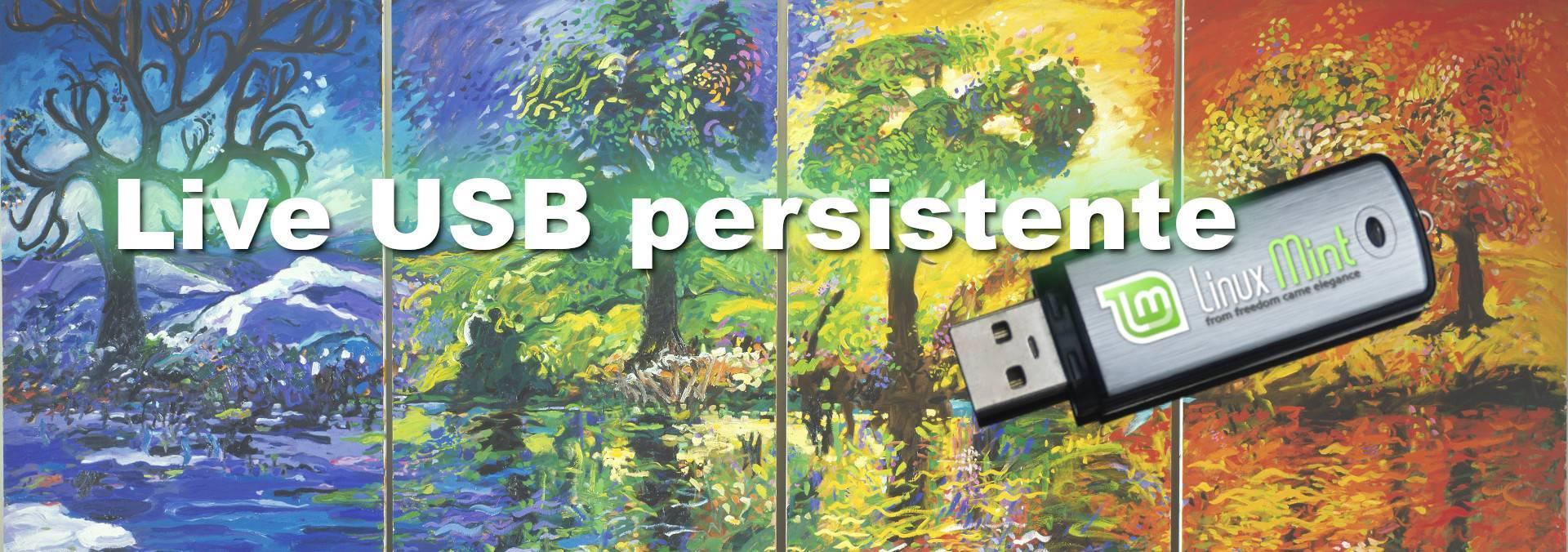 Live USB persistente con Linux Mint