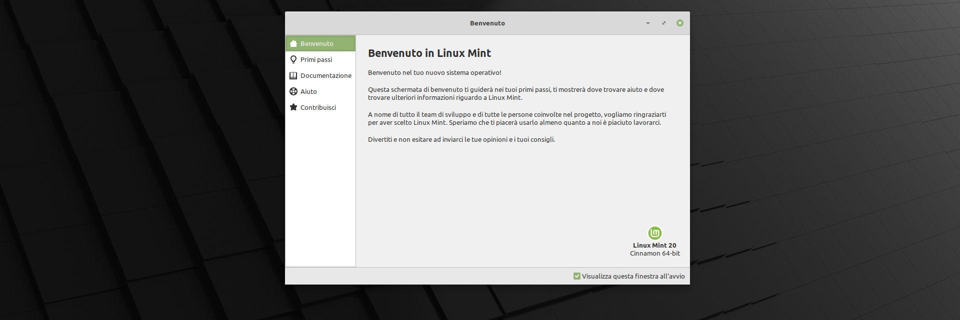 Uscito Linux Mint 20 Ulyana