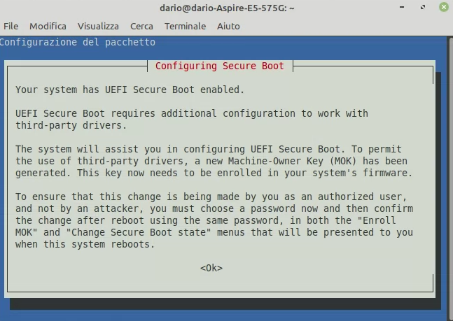 mintupgrade upgrade con secure boot