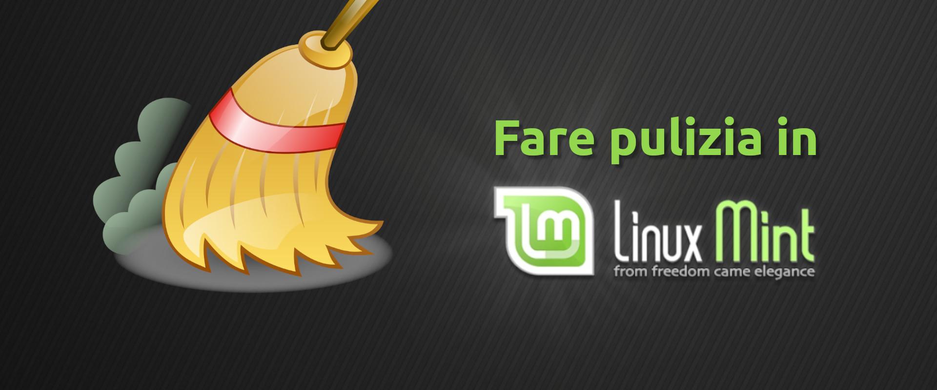 fare pulizia in Linux Mint