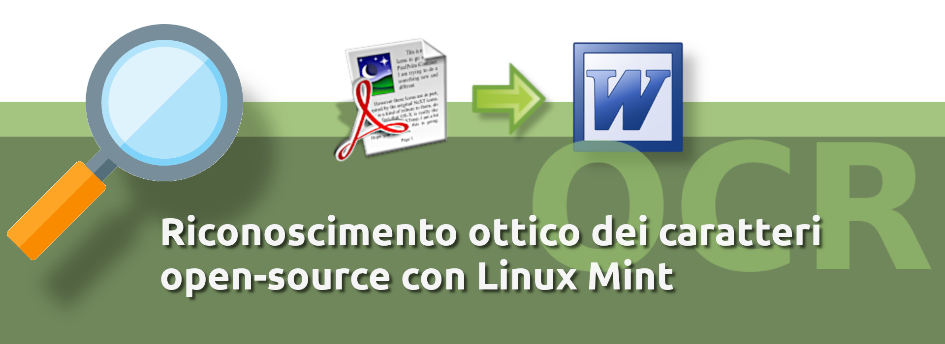 ocr gratis open source in Linux mint cover