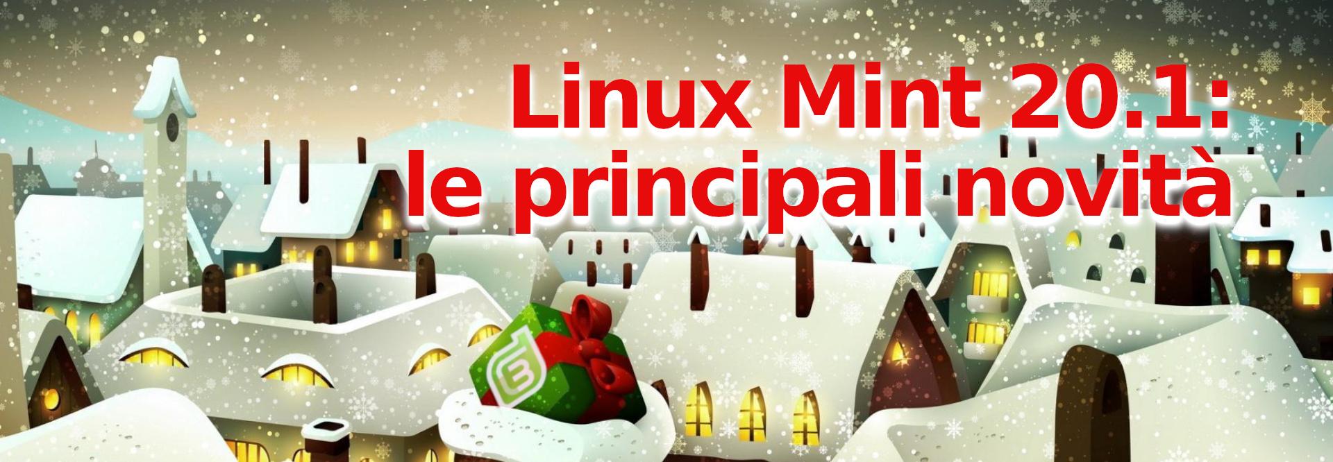novità di linux mint 20.1 ulyssa