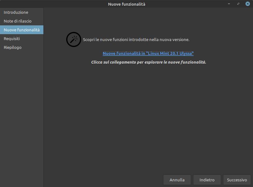 nuove funzioni Linux Mint 20.1 Ulyssa