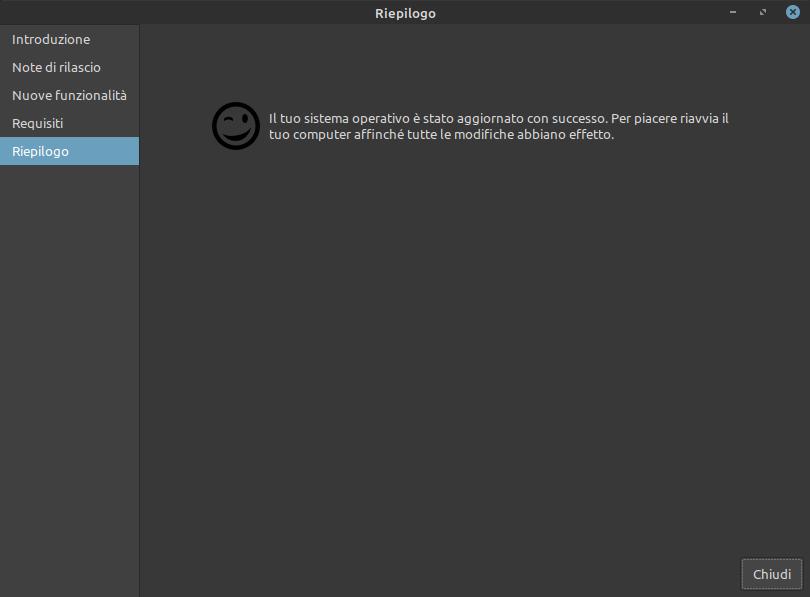 Linux Mint aggiornato alla versione 20.1