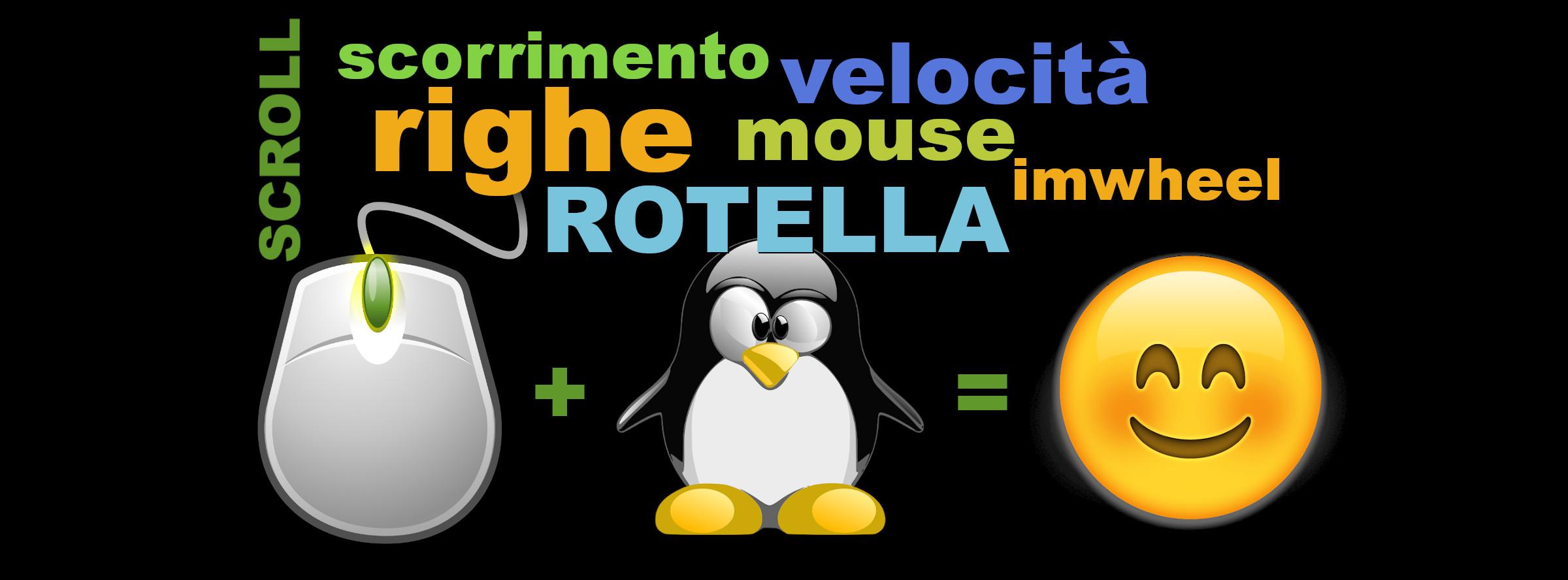 rotella mouse mousewheel imwheel linux