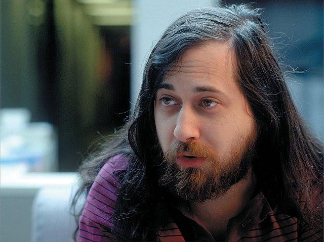 Richard Stallman negli anni '80