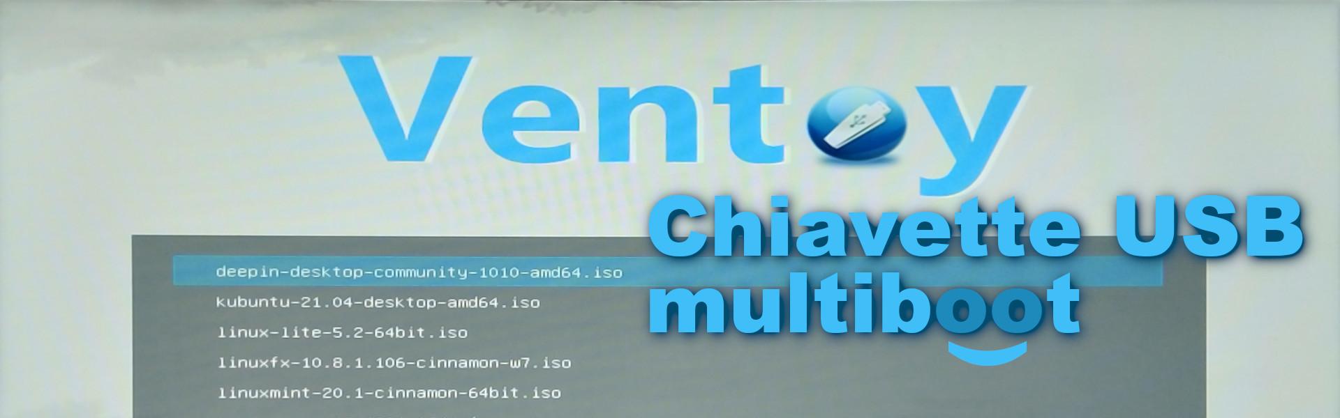 Chiavetta multiboot con Ventoy (copertina)