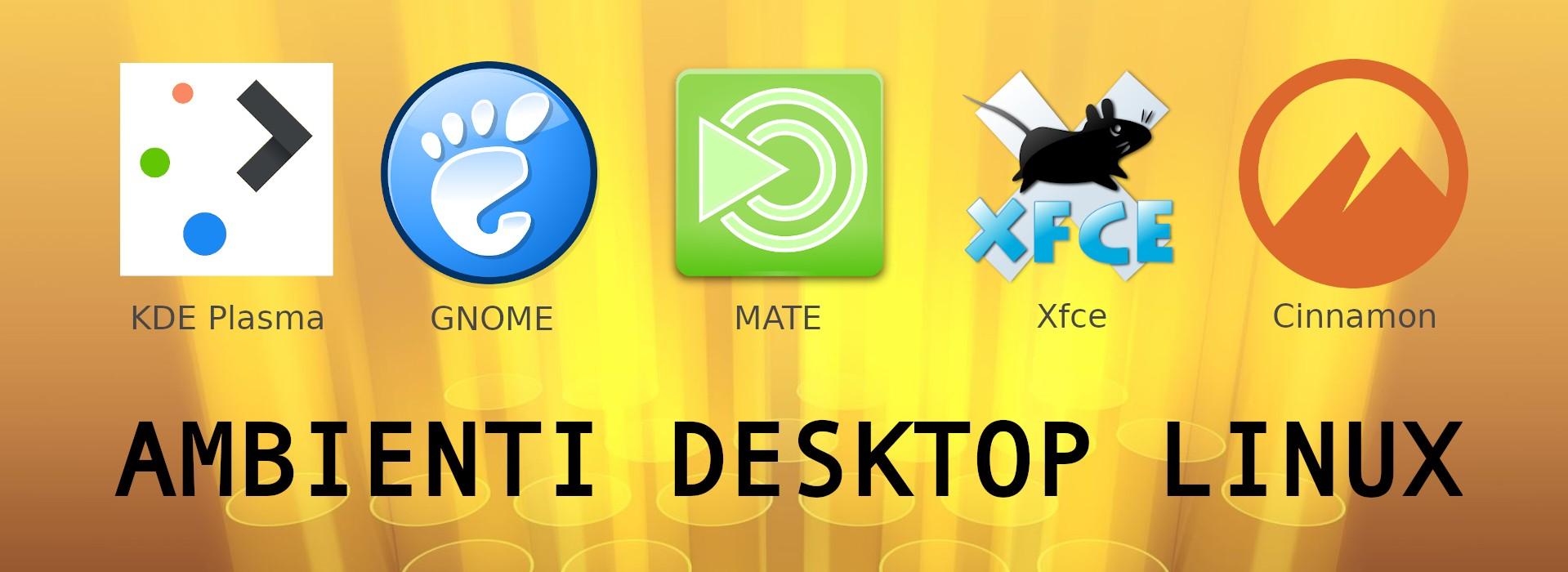 Installare ambienti desktop Linux (copertina)