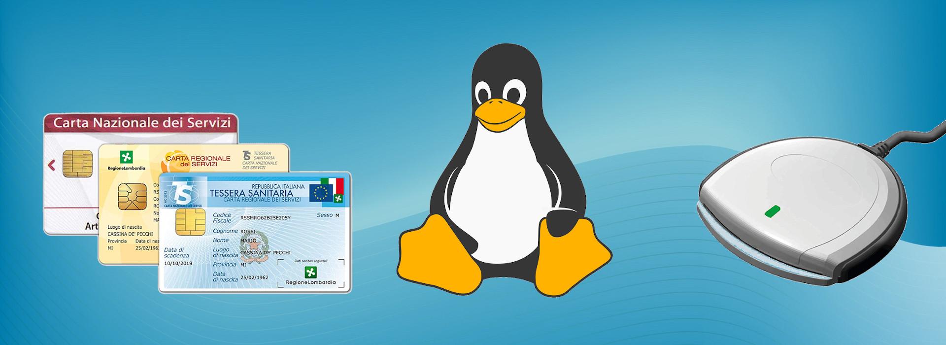 CNS, firma digitale, slpct Linux (copertina)